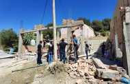طنجة.. سلطات مسنانة تُواصل حربها المفتوحة ضد البنايات العشوائية - (فيديو و صور)
