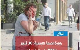 إسرائيل تعرض علاج المصابين في تفجير بيروت بمستشفياتها