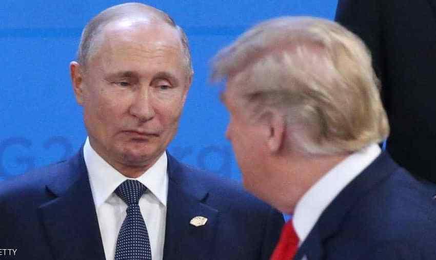 الرئيس الروسي بوتين يتمنى الشفاء لترامب بعد الإعلان عن إصابته بكورونا