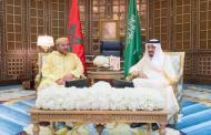 جـــلالة المـــلك يشيــد بالعلاقات بين المغــــــرب والسعودية