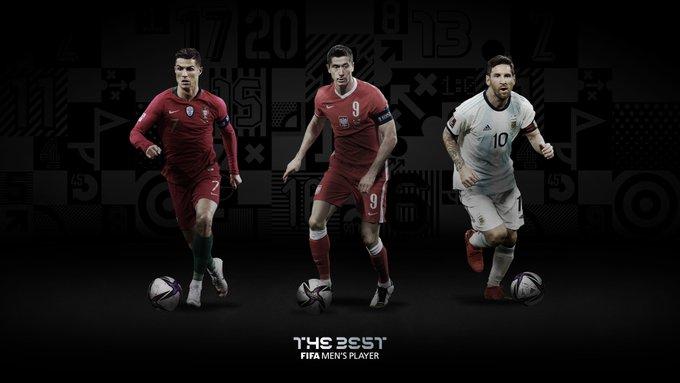 """الـ""""فيفا"""" يكشف عن الثلاثي المرشح لجائزة أفضل لاعب في العالم"""