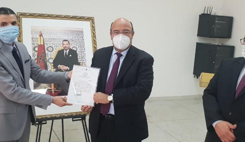 احمد الكريمي ينصب المدير الإقليمي الجديد على مراكش