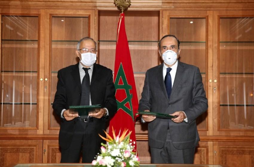 المالكي والباشا يوقعان على اتفاقية شراكة