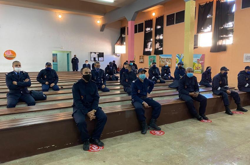 تلقيح 2385 من موظفي وحراس السجون ضد كورونا