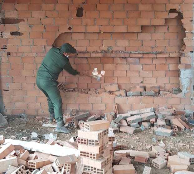 سلطات طنجة تحارب البناء العشوائي بأحياء المدينة