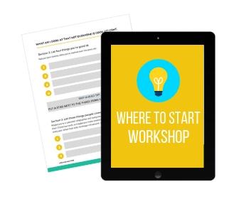 Eden Stancill - Where to Start Workshop