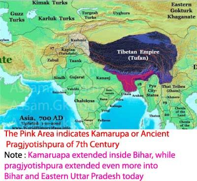 Early Kamarupa Map
