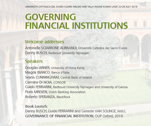Governing financial loc2