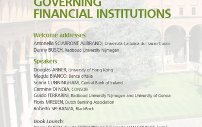 Governing Financial Institutions