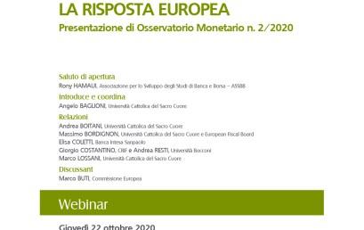 Presentazione di Osservatorio Monetario n. 2/2020