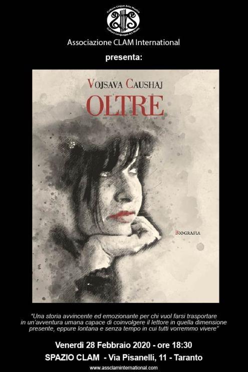 """Presentazione del libro """"Oltre"""" di Vojsava Caushaj - Assclaminternational"""