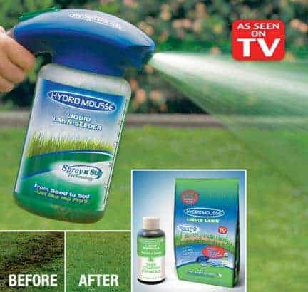 Hydro Mousse As Seen On Tv Grass Seeds You Spray On