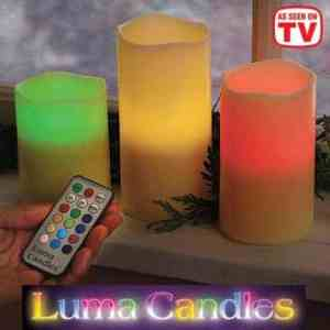 As Seen On TV Luma Candles