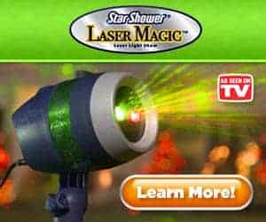Star Shower Laser Magic