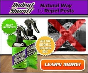 Rodent Sheriff Peppermint Spray Stop and Eliminate Rodents