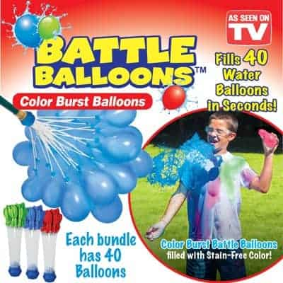 color burst water balloons