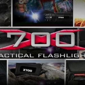 X700 Tactical Flashlight