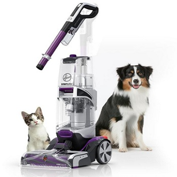 Clean Up Pet Messes with the Hoover Smartwash