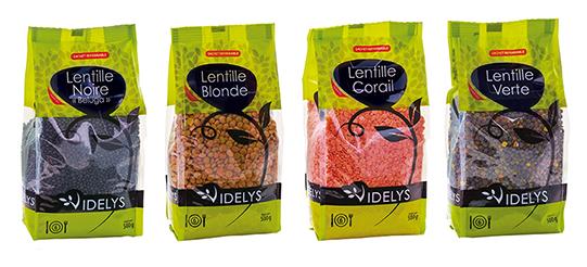 Produits Lentilles Videlys