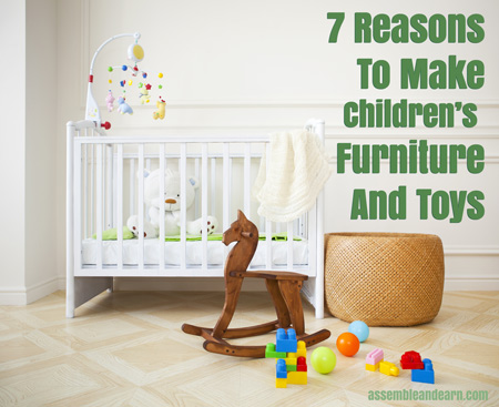 7 reasons to make and sell children 39 s furniture and toys for Wood crafts to sell at craft shows