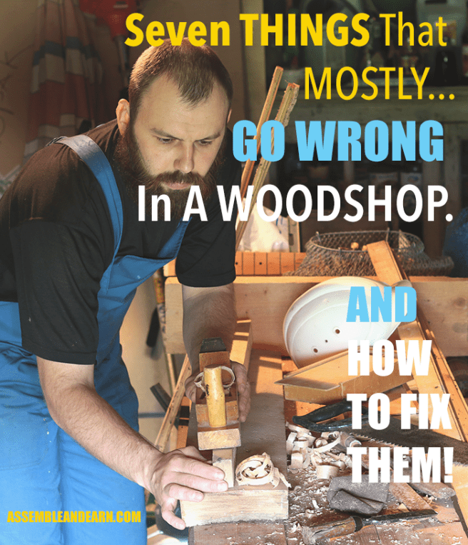7 common woodworking mistakes and their fix