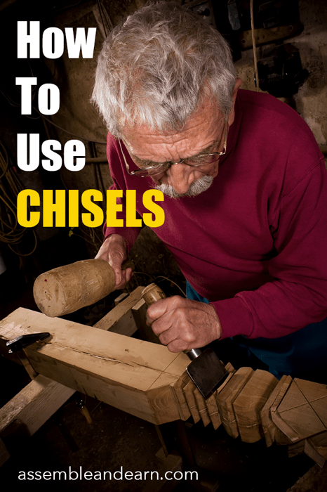 how to use chisels in woodworking