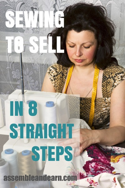 how to sew to sell in 7 striaght steps