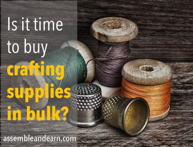 buy bulk craft supplies
