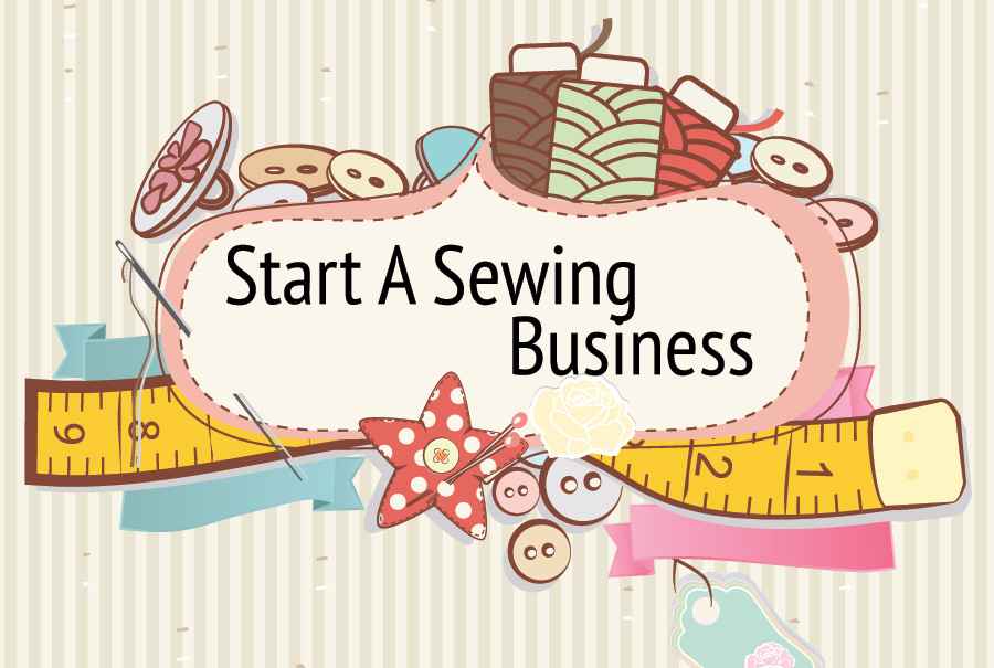 start a sewing business