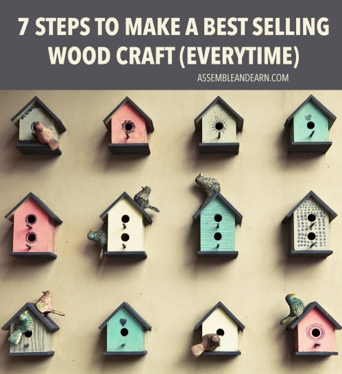 how to make best selling wood crafts