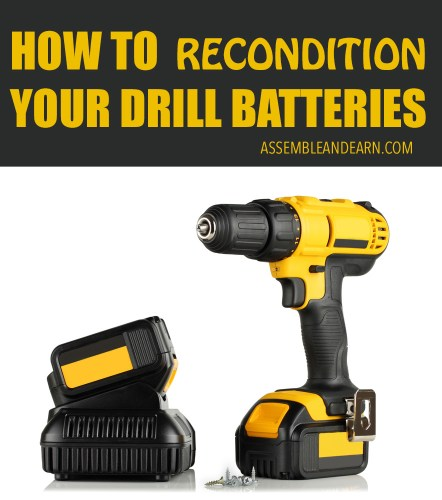 tool battery reconditioning