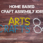 Find a craft job at home
