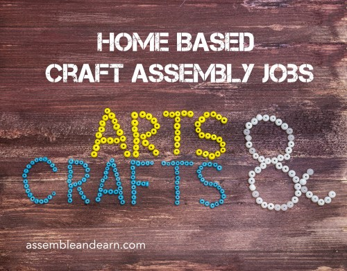 craft product assembly jobs from home