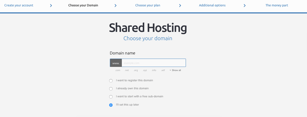 Dreamhost domain