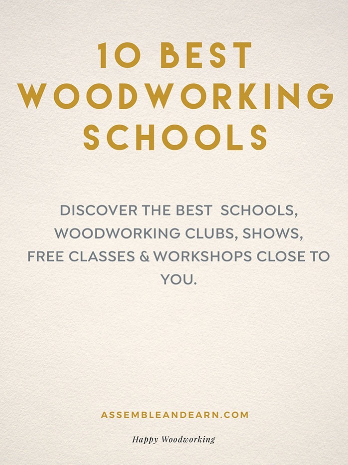 Best woodworking schools