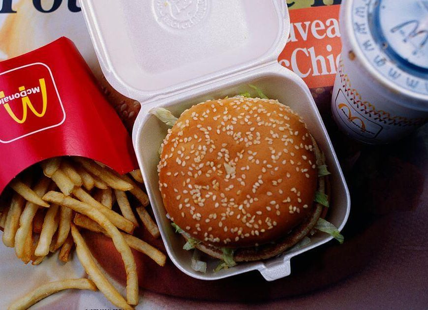 Deeply committed Big Mac fan eats his 30,000th order