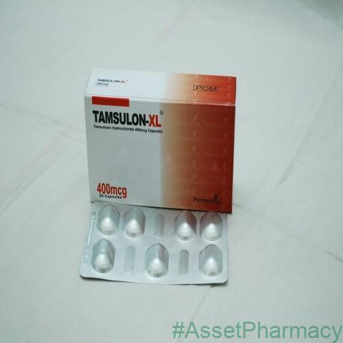 Tamsulon Xl Capsules 400mcg 28 Capsules Asset Pharmacy Lagos Nigeria