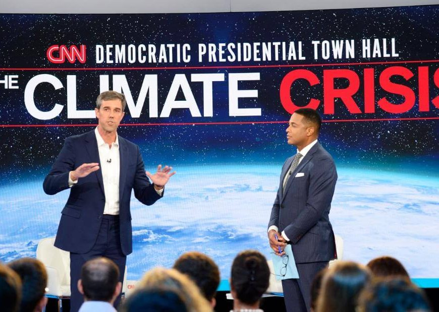 Fact-checking presidential candidates at the CNN climate town hall