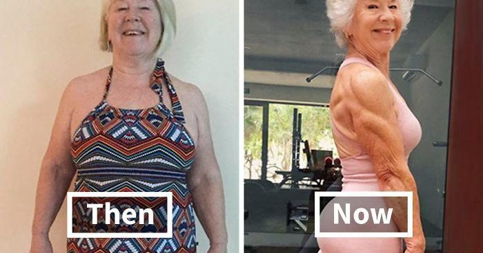 Daughter Helps 73-Year-Old Mom Lose 50+ Pounds To Get Her Health Back On Track, And Her Before And After Pics Go Viral