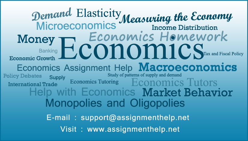 Economics Assignment Help Online