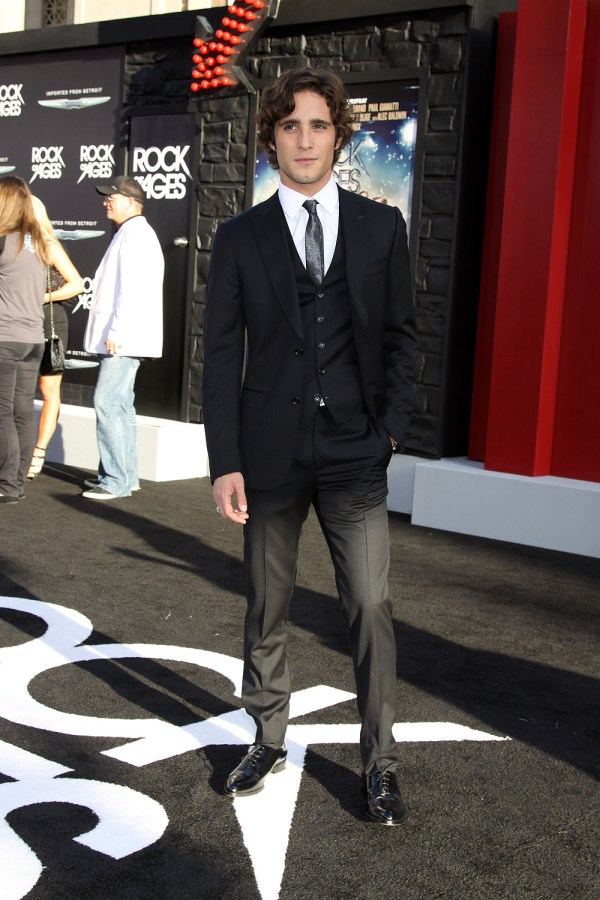 Diego Boneta at the World Premiere of ROCK OF AGES | ©2012 ...