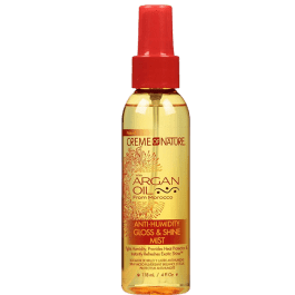 Creme of Nature Argan Oil Anti-Humidity Gloss & Shine Mist 118ml