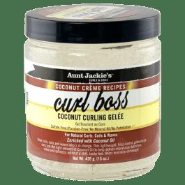 Aunt Jackie's Coconut Creme Recipes Curl Boss Coconut Curling Gelée 426gr