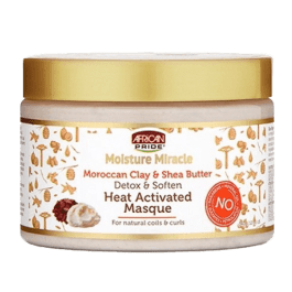African Pride Moisture Miracle Moroccan Clay & Shea Butter Máscara 340gr