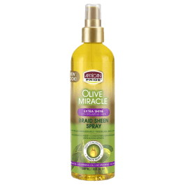 African Pride Braid Sheen Spray Original Extra Shine 355ml