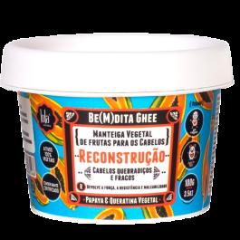 Lola Be(m)dita Ghee Papaya & Queratina Vegetal Máscara de Reconstrução 100gr