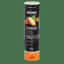 Novex Super Hair Food Cacau & Amêndoa Condicionador 300ml