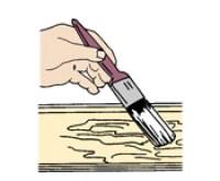 colocar removedor de tinta