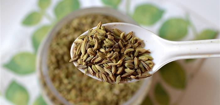 1 colher de sopa de sementes de erva doce