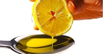 Azeite suco de limão jejum
